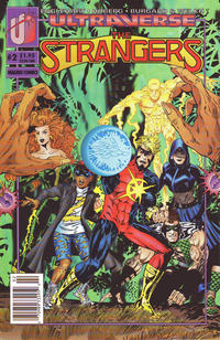 Cover for The Strangers (Malibu, 1993 series) #2 [Newsstand]