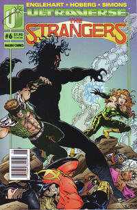 Cover for The Strangers (Malibu, 1993 series) #6 [Direct Edition]