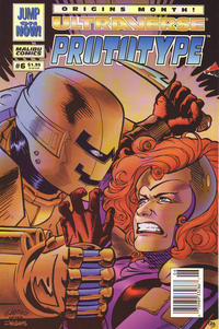 Cover Thumbnail for Prototype (Malibu, 1993 series) #6 [Newsstand]