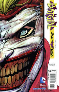 Cover Thumbnail for Batgirl (DC, 2011 series) #13 [Direct Sales]