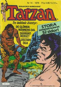 Cover Thumbnail for Tarzan (Atlantic Förlags AB, 1977 series) #14/1979