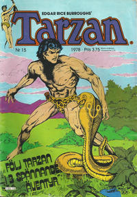 Cover Thumbnail for Tarzan (Atlantic Förlags AB, 1977 series) #15/1978