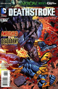 Cover Thumbnail for Deathstroke (DC, 2011 series) #13
