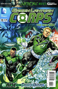 Cover Thumbnail for Green Lantern Corps (DC, 2011 series) #13