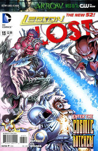 Cover for Legion Lost (DC, 2011 series) #13