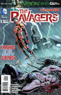 Cover Thumbnail for The Ravagers (DC, 2012 series) #5