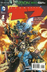 Cover Thumbnail for Team 7 (DC, 2012 series) #1 [Doug Mahnke Cover]