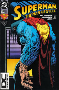 Cover Thumbnail for Superman: The Man of Steel (DC, 1991 series) #33 [DC Universe Corner Box]