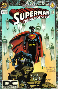 Cover Thumbnail for Superman: The Man of Steel Annual (DC, 1992 series) #3 [DC Universe Corner Box]