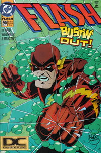 Cover Thumbnail for Flash (DC, 1987 series) #90 [DC Universe Corner Box]