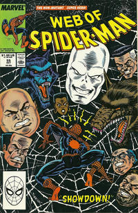 Cover Thumbnail for Web of Spider-Man (Marvel, 1985 series) #55 [Direct Edition]