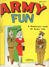 Cover Thumbnail for Army Fun (Prize, 1952 series) #v3#6