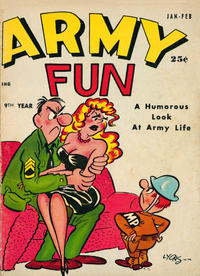 Cover Thumbnail for Army Fun (Prize, 1952 series) #v5#2