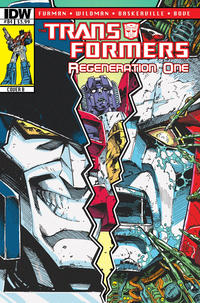Cover for Transformers: Regeneration One (IDW, 2012 series) #84 [Cover A - Andrew Wildman]
