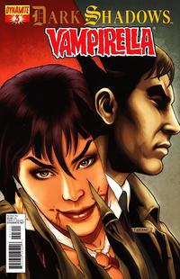 Cover Thumbnail for Dark Shadows / Vampirella (Dynamite Entertainment, 2012 series) #3