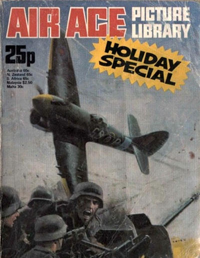 Cover for Air Ace Picture Library Holiday Special (IPC, 1969 series) #1976
