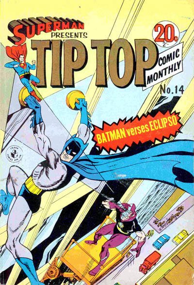 Cover for Superman Presents Tip Top Comic Monthly (K. G. Murray, 1965 series) #14