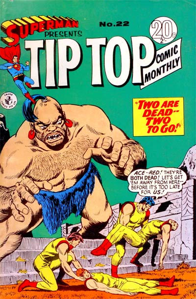 Cover for Superman Presents Tip Top Comic Monthly (K. G. Murray, 1965 series) #22