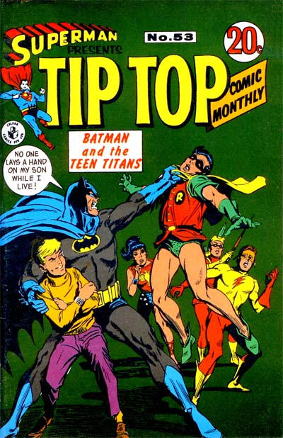 Cover for Superman Presents Tip Top Comic Monthly (K. G. Murray, 1965 series) #53