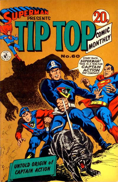 Cover for Superman Presents Tip Top Comic Monthly (K. G. Murray, 1965 series) #60