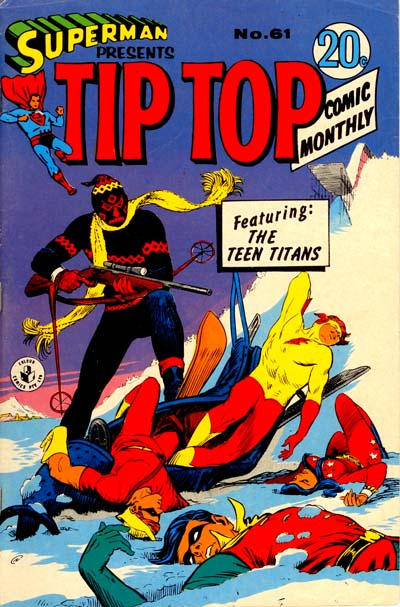 Cover for Superman Presents Tip Top Comic Monthly (K. G. Murray, 1965 series) #61