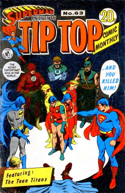 Cover for Superman Presents Tip Top Comic Monthly (K. G. Murray, 1965 series) #63