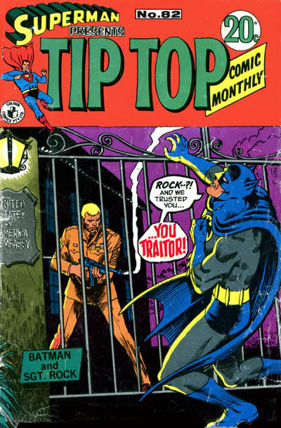 Cover for Superman Presents Tip Top Comic Monthly (K. G. Murray, 1965 series) #82