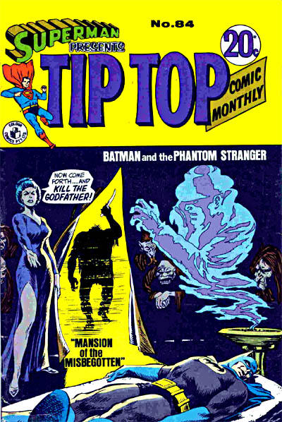 Cover for Superman Presents Tip Top Comic Monthly (K. G. Murray, 1965 series) #84