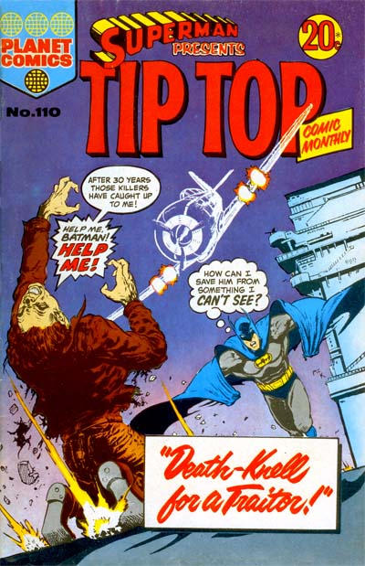 Cover for Superman Presents Tip Top Comic Monthly (K. G. Murray, 1965 series) #110