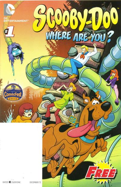 Cover for Batman/Scooby-Doo Halloween Fest (DC, 2012 series) #1