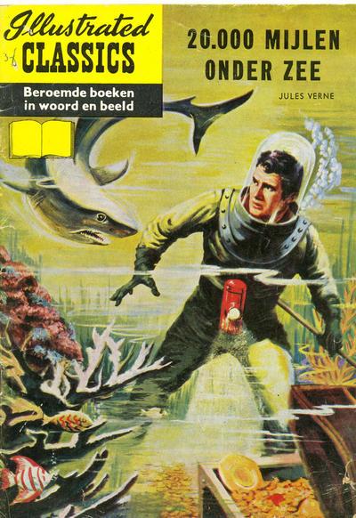 Cover for Illustrated Classics (Classics/Williams, 1956 series) #20 - 20.000 Mijlen onder zee