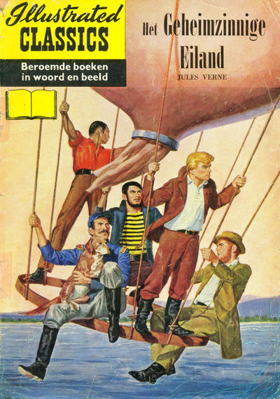 Cover for Illustrated Classics (Classics/Williams, 1956 series) #21 - Het geheimzinnige eiland