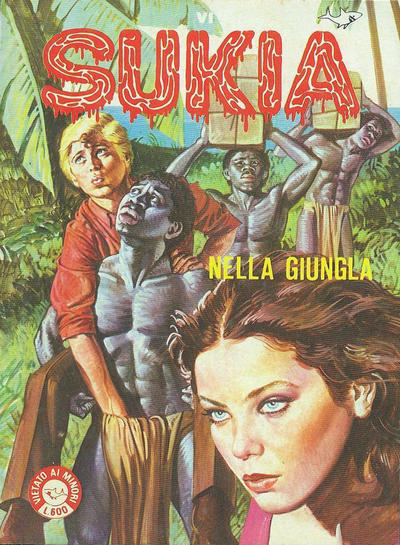 Cover for Sukia (Edifumetto, 1978 series) #96