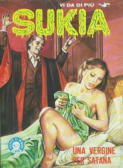 Cover for Sukia (Edifumetto, 1978 series) #100