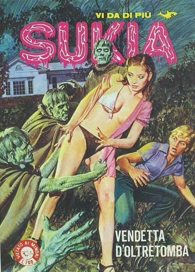Cover for Sukia (Edifumetto, 1978 series) #111