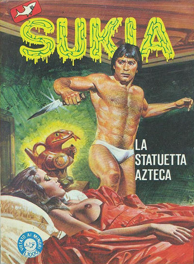 Cover for Sukia (Edifumetto, 1978 series) #133