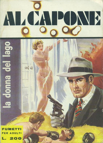 Cover for Gangster Story Al Capone (Ediperiodici, 1967 series) #2