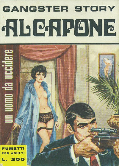 Cover for Gangster Story Al Capone (Ediperiodici, 1967 series) #6