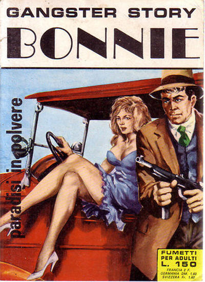 Cover for Gangster Story Bonnie (Ediperiodici, 1968 series) #6