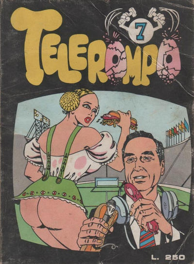 Cover for Telerompo (Publistrip, 1973 series) #7