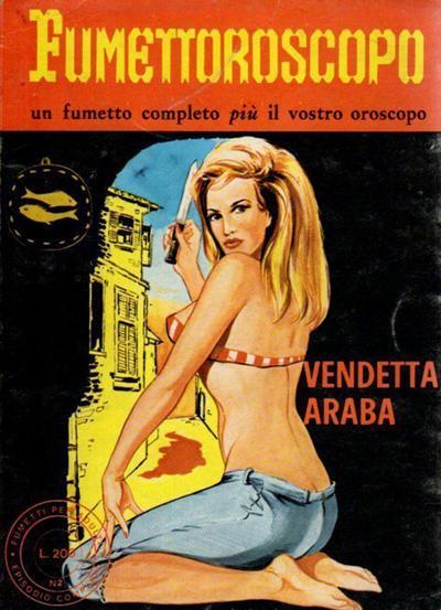 Cover for Fumettoroscopo (Edifumetto, 1973 series) #2