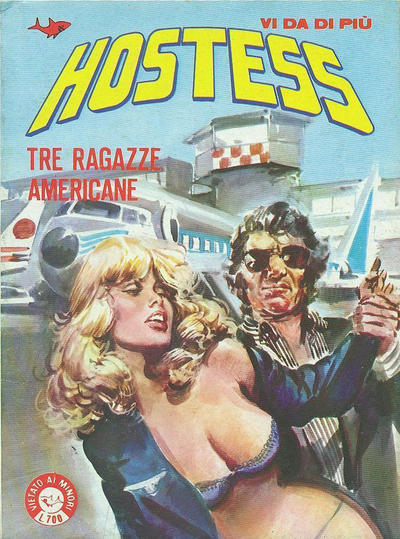 Cover for Hostess (Edifumetto, 1983 series) #1