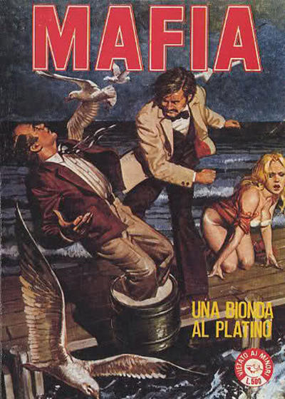 Cover for Mafia (Edifumetto, 1979 series) #20