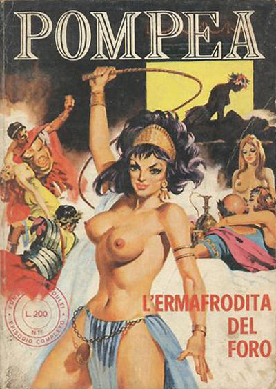 Cover for Pompea (Edifumetto, 1972 series) #v1#1