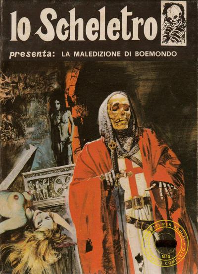 Cover for Lo Scheletro (Edifumetto, 1972 series) #v1#13