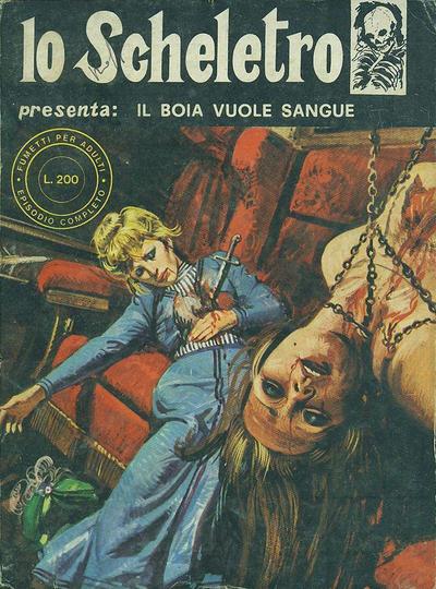 Cover for Lo Scheletro (Edifumetto, 1972 series) #v2#3