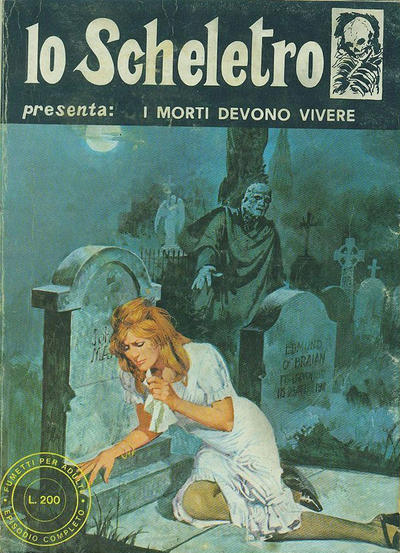 Cover for Lo Scheletro (Edifumetto, 1972 series) #v2#4