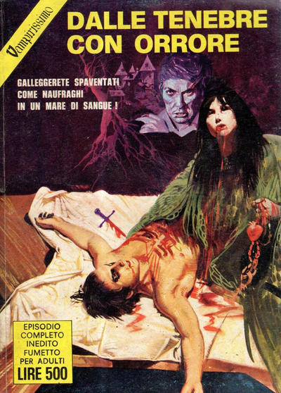 Cover for Vampirissimo (Edifumetto, 1972 series) #15