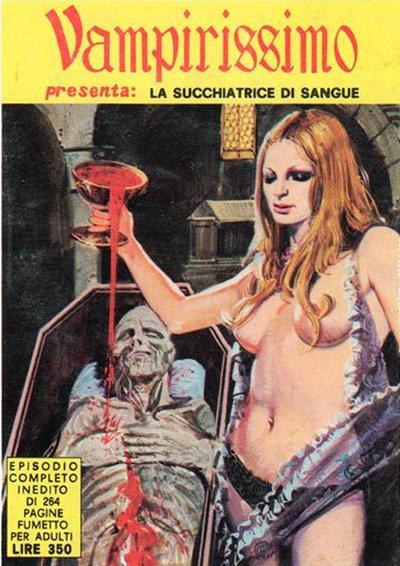 Cover for Vampirissimo (Edifumetto, 1972 series) #v1#1