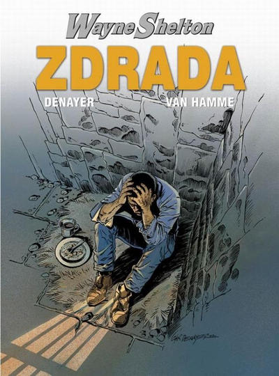 Cover for Wayne Shelton (Egmont Polska, 2003 series) #2 - Zdrada